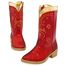 Red Sparkle Jessie Boots for Girls