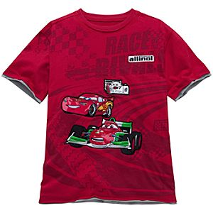 Race of the Rivals Cars 2 Tee for Boys