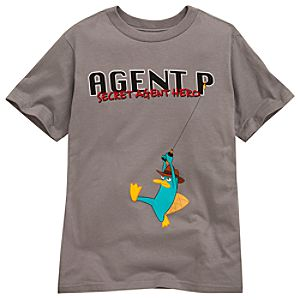 Phineas and Ferb Agent P Tee for Boys -- Made With Organic Cotton