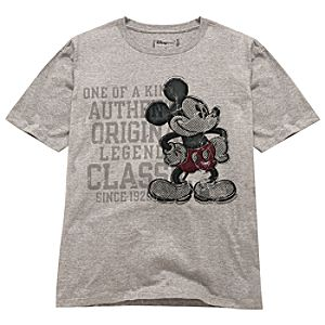 Distressed Mickey Mouse Tee -- Made With Organic Cotton