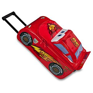 Cars 2 Lightning McQueen Rolling Luggage