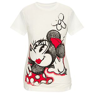 Glamour Minnie Mouse Tee for Women -- Made With Organic Cotton
