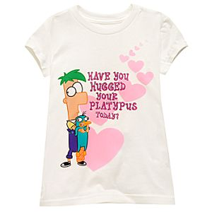 Ferb and Perry Tee for Girls -- Made With Organic Cotton