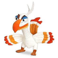 Zazu Plush - The Lion King: The Broadway Musical - Bean Bag	9''