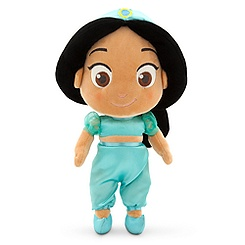 Toddler Jasmine Plush Doll - Aladdin - Small - 12 1/2''
