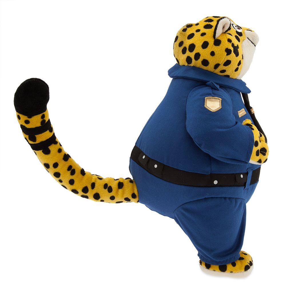 迪斯尼disney疯狂动物城猎豹警官毛绒玩具zootopia