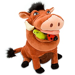 Pumbaa Plush - The Lion Guard - Medium - 12 1/2''