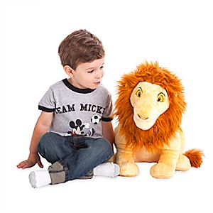 Simba Plush - The Lion King - Large - 18''