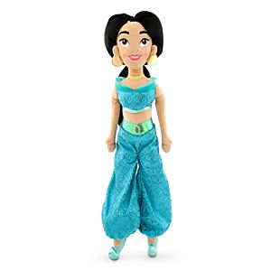 Jasmine Plush Doll - Aladdin - Medium - 20''