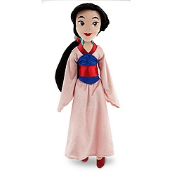 Mulan Plush Doll - Medium - 20''