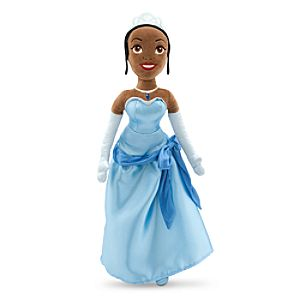 Tiana Plush Doll - The Princess and the Frog - Medium - 20''