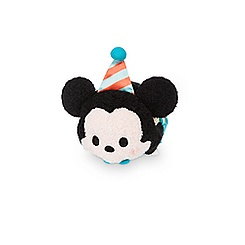Mickey Mouse Birthday 2016 ''Tsum Tsum'' Plush - Mini - 3 1/2''