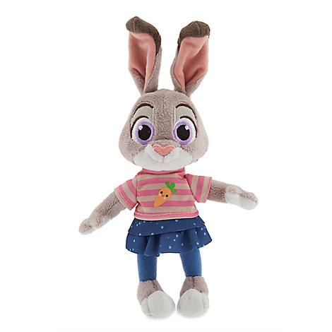 Judy Hopps Plush Zootopia Mini Bean Bag 9