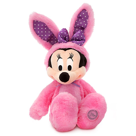 Minnie Mouse Plush Bunny - 17'' - Pink