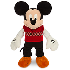 Mickey Mouse Plush - Holiday - Medium - 15''