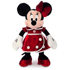 Minnie Mouse Plush - Holiday - Medium - 15''