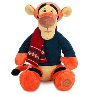 Tigger Plush - Holiday - Medium - 12''