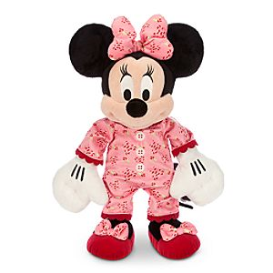 Minnie Mouse Plush - Holiday Pajamas - Medium - 15''