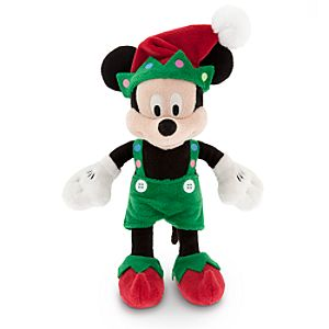 Mickey Mouse Plush - Holiday - Mini Bean Bag - 9''