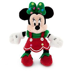 Minnie Mouse Plush - Holiday - Mini Bean Bag - 9''