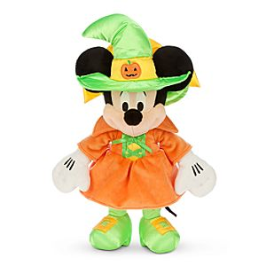 Minnie Mouse Witch Plush - Halloween - Small - 15''