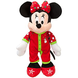 2011 Share the Magic Holiday Pajamas Minnie Mouse Plush Toy -- 18 H