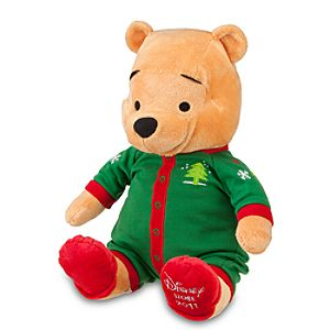 2011 Holiday Pajamas Pooh Plush Toy -- 13 H