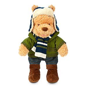 Winnie the Pooh Plush - Holiday Special Edition - Medium - 12''