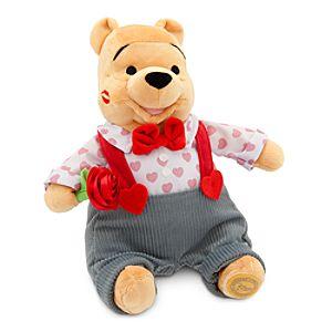 Winnie the Pooh Plush - Valentine's Day - Medium - 11''