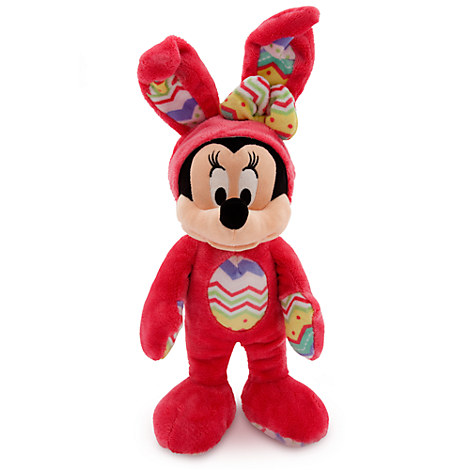 Minnie Mouse Plush Bunny - Medium - 14''