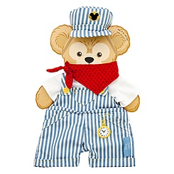 Duffy the Disney Bear Train Engineer Costume - 17''