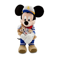 Mickey Mouse with Duffy Plush - 17''