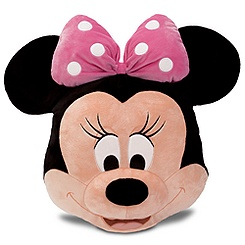 Minnie Mouse Plush Pillow - Pink - 16''