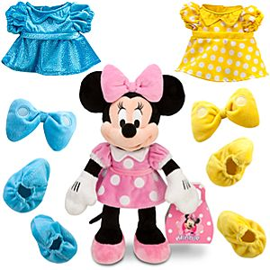 Dress Up Minnie Mouse Plush -- 14