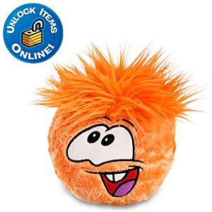 Club Penguin Orange Pet Puffle -- 6