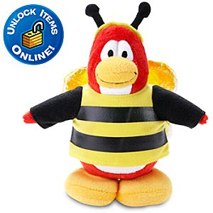 Club Penguin 6 Penguin Plush -- Bumble Bee
