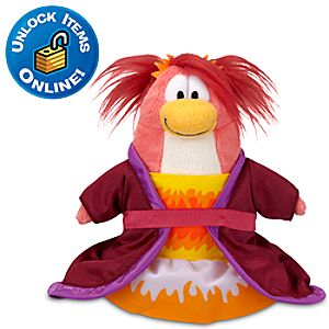Club Penguin 6 Penguin Plush -- Phoenix Dress