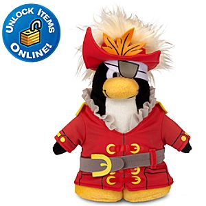 Club Penguin 6 Penguin Plush -- Swashbuckler