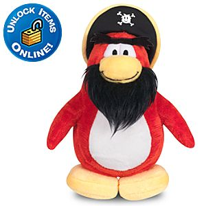 Club Penguin 6 Penguin Plush -- Rockhopper