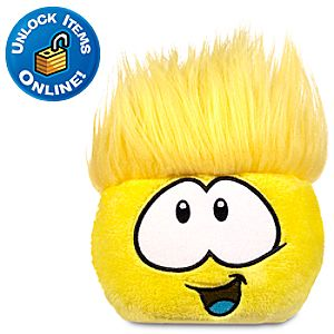 Club Penguin 3 Yellow Pet Puffle