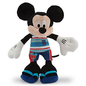 Mickey Mouse Plush - Summer Fun - Medium - 17''