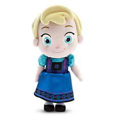 TY Toys Toddler Elsa Plush Doll - Small - 12'' - Frozen