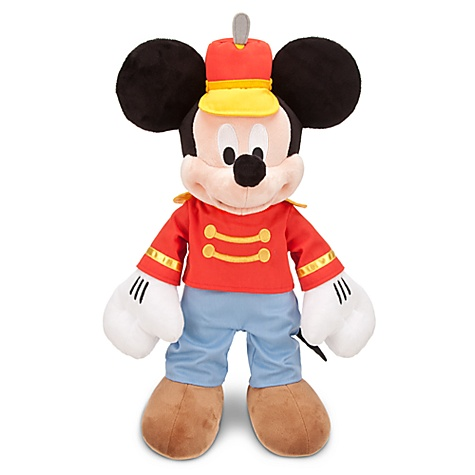 The Mickey Mouse Club: Circus Day Mickey Mouse Plush Toy -- 17'' H