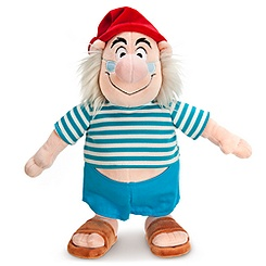 Mr. Smee Plush - Peter Pan - 11''