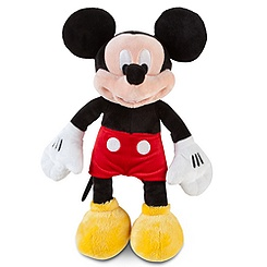 Small Mickey Mouse Plush -- 12'' H