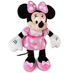 Minnie Mouse Plush - Pink Dress - 12''
