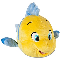 The Little Mermaid: Flounder Plush -- 10'' L