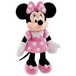 Minnie Mouse Plush - Pink - 19''