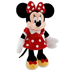 Minnie Mouse Plush - Red - 19''
