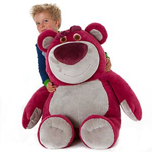 Giant Lots-o-Huggin Bear Plush Toy -- 27 H
